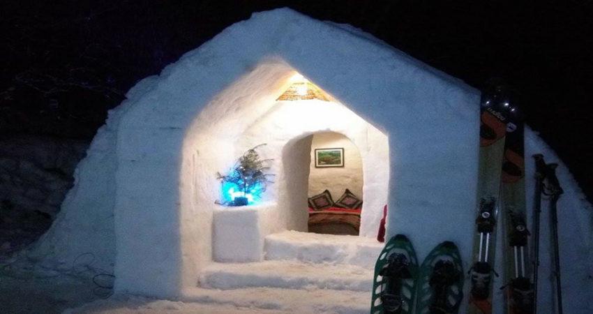 One Night Igloo Stay Keylinga Himalayan Adventures