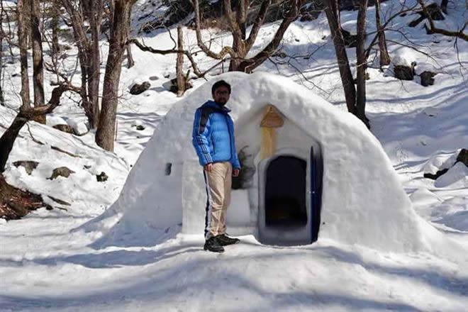 Day Trip Igloo Camp Keylinga Himalayan Adventures