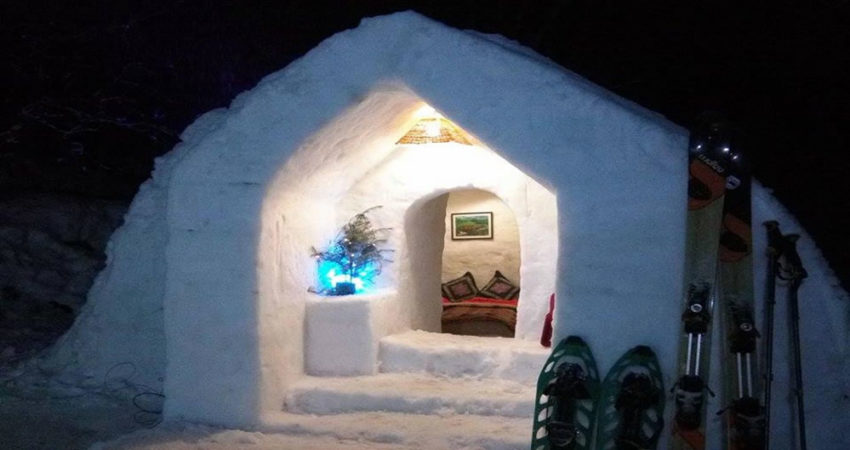 One Night Igloo Stay – Keylinga Himalayan Adventures